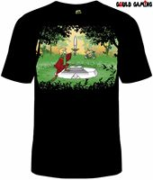Legend of Zelda Sword in Stone T Shirt Unisex Cotton Nintendo Breath of the Wild2019 fashionable Brand 100%cotton Printed Round