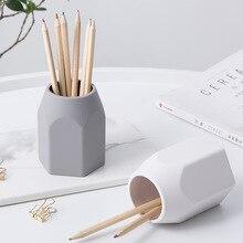 Силиконовая подставка для ручек, подставка для карандашей, настольный чехол для хранения, коробка для стола, офисный органайзер, аксессуары, Канцелярский набор, подарки для студентов