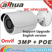 Original Dahua Original Dahua IPC-HFW1320S replace IPC-HFW4300S 3MP Full HD Network Small IR-Bullet Camera POE network cctv IPC