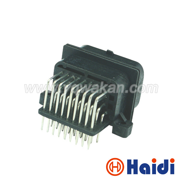 Free shipping 1sets Tyco auto 34pin ECU male connector for 4-1437290-0 34 way ECU control cable connector 6437288-1 artificial gem leaf teardrop earrings