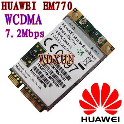 original HUAWEI Mobile EM770 WWAN 3G CARD PCI-E HSPA modul WCDMA UNLOCKED EDGE EM770