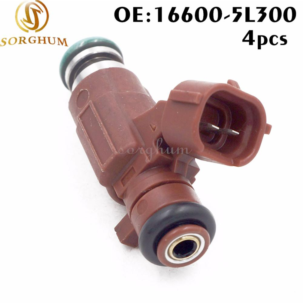 4PCS Fuel Injector FBJB100 For Nissan Sentra 2000-2003 1.8L L4 QG18DE 16600-5L300 166005L300