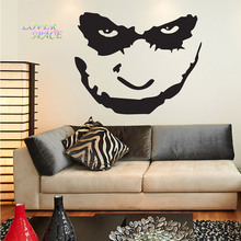 Batman The Joker Face Wall Decal Sticker Art Vinyl Mural Home Decor Wall Stickers For Kids Rooms Custom Made Color 57x72cm