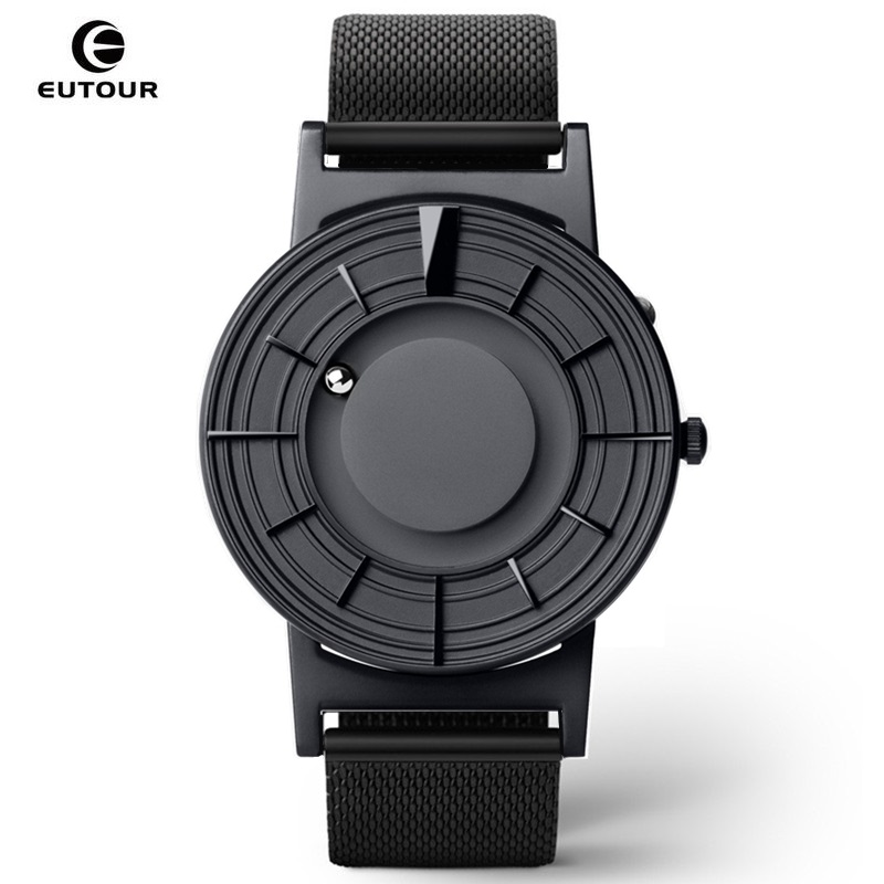 EUTOUR Magnetic Mens Watch Quartz Man Women watches Ball Show Kinds Straps Fashion Casual Wrist Watches erkek kol saati 2019|Quartz Watches| |  - title=