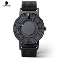 EUTOUR Magnetic Mens Watch Quartz Man Women watches Ball Show Kinds Straps Fashion Casual Wrist Watches erkek kol saati 2019