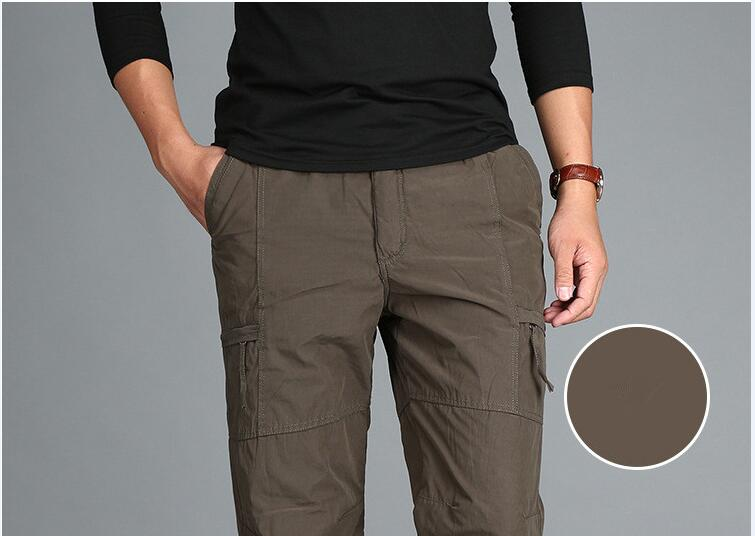 HTB1NukNXRcXBuNjt Xoq6xIwFXaz - Men's Fleece Cargo Pants Winter Thick Warm Pants Full Length Multi Pocket Casual Military Baggy Tactical Trousers Plus size 3XL