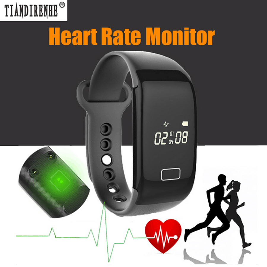 Tiandirenhe Heart Rate Monitor Smart Band Fitness Tracker Smartband Wristband Bracelet Wearable Devices Sports for IOS