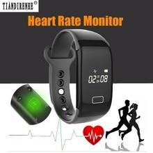 Tiandirenhe Монитор Сердечного ритма Смарт-Группы Фитнес-Трекер Smartband Браслет Браслет Носимых Устройств Спорта для IOS Andriod