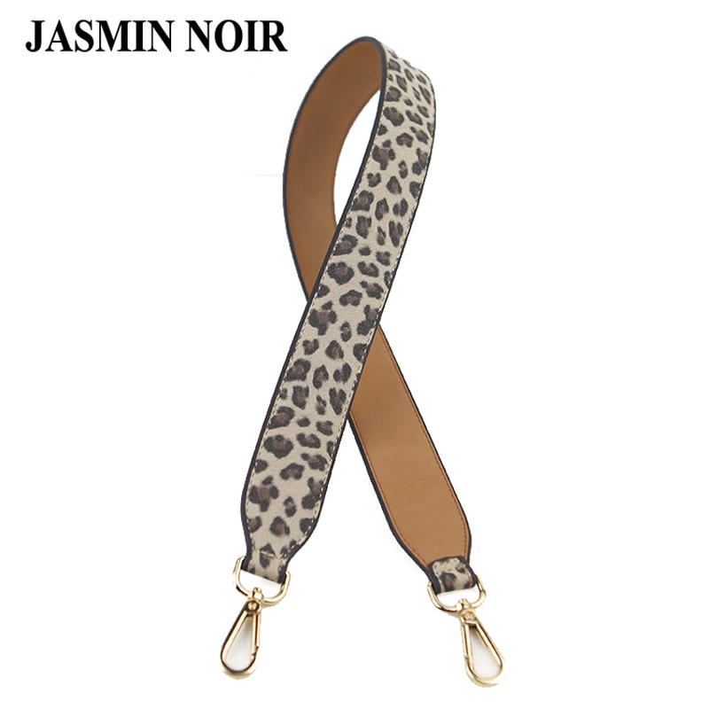 Brand Designer Women Bag Decor Strap Weave Rainbow Serpentine Leopard 30 colors PU Leather Wide Double Sides Belt Bag Accessary contrast pu wide belt
