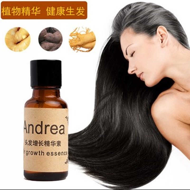 2018 Essential Oils Massage Andrea Hair Growth Essence Loss Liquid 20ml Dense Fast