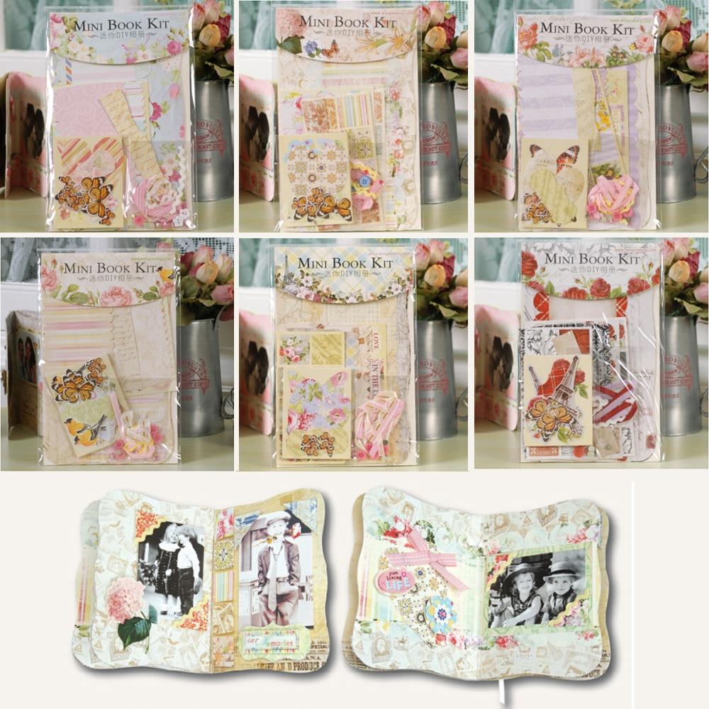 Scrapbook ideas singapore - Mini Album Scrapbooking Kits For Kids Diy Scrapbook Album Making Pocket Photo Album China