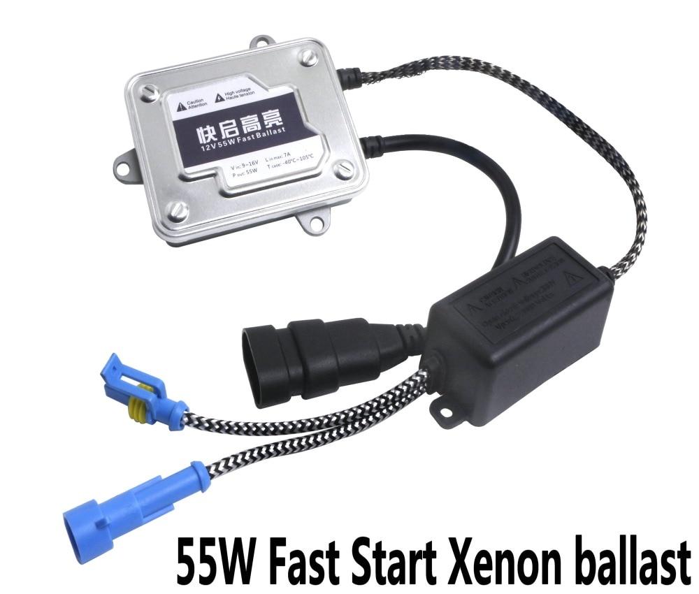 2Pcs Ballast 12V 55W Fast Start Ballast Automotive HID Xenon External Light Digital Signal Process Safety
