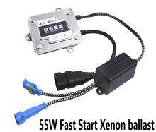 2 шт балласт 12 V 55 W устройство быстрого запуска автомобильные ксеноновые Xenon внешний свет цифровой обработки сигнала безопасности балласта в белой коробке