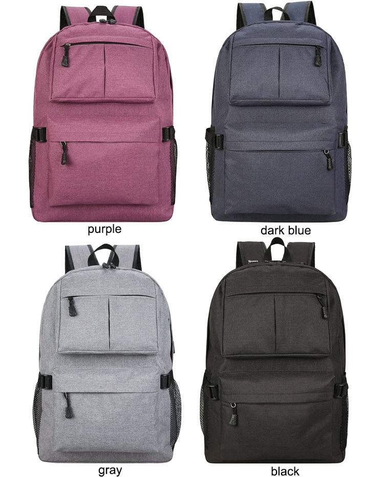 8c32fe1f7985 Usb Charging Men Backpack Woman New Design Large Capacity School Oxford  Women Backpack Women Travel Bag Laptop Back Packs Rolling Backpacks From ...