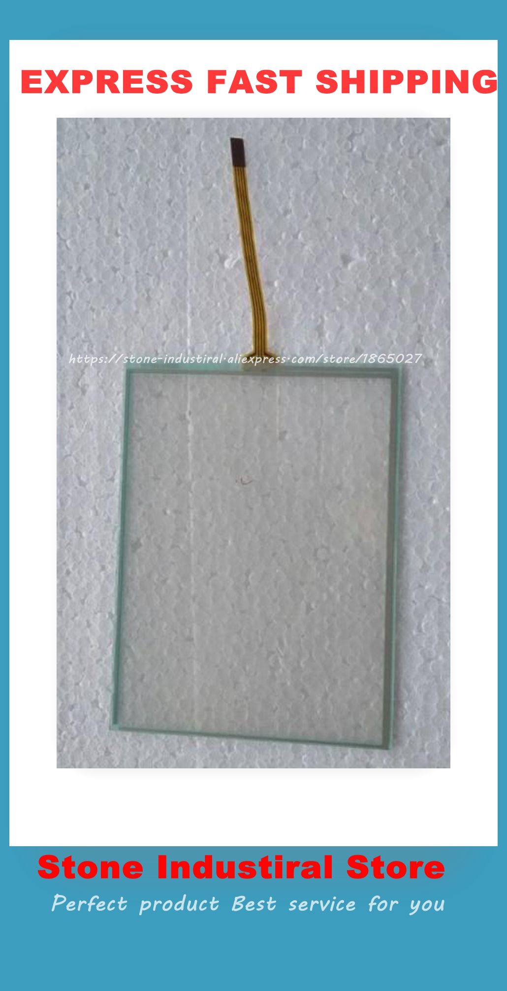 AMT9525 6 4 Inch 4 Wire Resistive Touchscreens Glass Panel Compatible AMT 9525