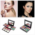 Professional Brand Make Up Palette Set  Cosmetics Eyeshadow Lip Gloss Foundation Powder Blusher Puff Tool Kit maquiagem