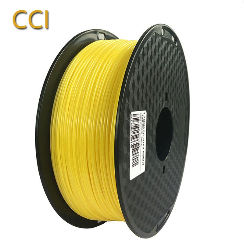 Bilgisayar ve Ofis'ten 3D Baskı Malzemeleri'de 3D Yazıcı Filament PC 1.75mm 1 kg siyah yeşil orange kırmızı beyaz sarı gri mavi Polikarbonat Baskı PC Malzeme title=