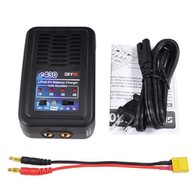 SKYRC e430 30W Simple balanced charge discharge built-in power supply for 2s-4s LiPo LiFe RC Battery