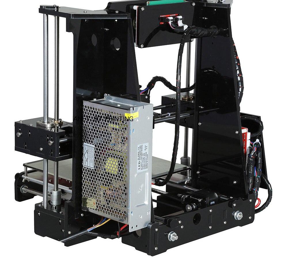 Anet A6 3d drucker Acryl Rahmen Maschine impressora 3d Extruder ...