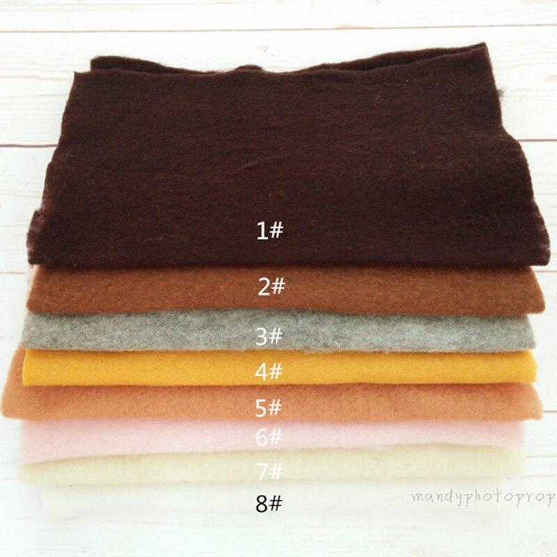 Woolen Felt Blanket Photography Prop,Basket Filler Woolen Mat,basket Filler Photography Props