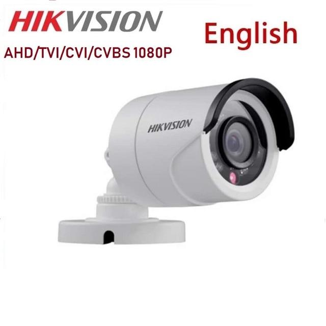 DS-2CE16D0T-IRF Hikvision English 2MP HD1080P IR Bullet Camera 20m IR Distance IP66 weatherproof CCTV Security Camera