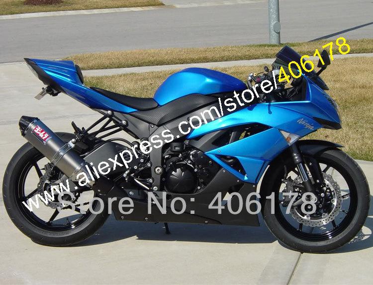 Лидер продаж, для Kawasaki Ninja ZX6R 2009 2012 Обтекатели 636 ZX 6R ZX636 ZX6R 09 10 11 12 мотоцикл тело Наборы (литья под давлением)