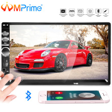AMPrime 2 Din Universal Car Multimedia Player Autoradio 2din Stereo 7″ Touch FM Video MP5 Player 7018B Auto Radio Backup Camera