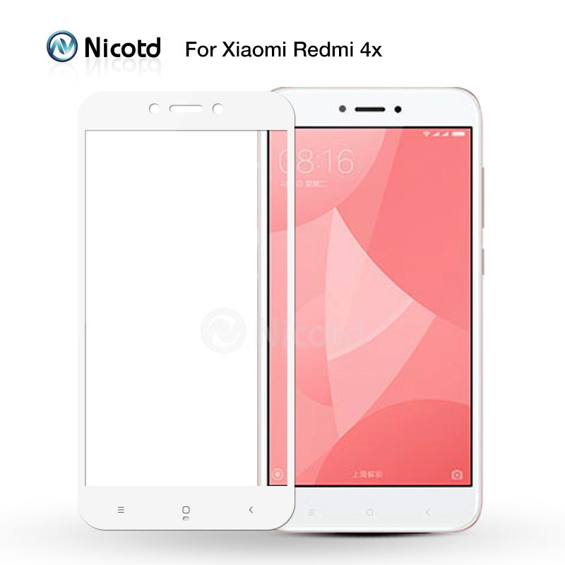 Full Cover Tempered Glass For Xiaomi Redmi 4X 4A 3s For Redmi Note 5A prime 5plus 3X Note 4 3 4X Screen Protector Toughened Film 1
