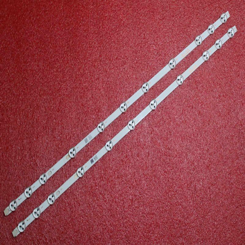 Novedad, 2 uds., 11 leds, 575mm, de 32 pulgadas para chaleco retroiluminación LED, NDV REV1.1 LC32LD145K, VES315WNDL-01 VES315WNDS-2D-R02