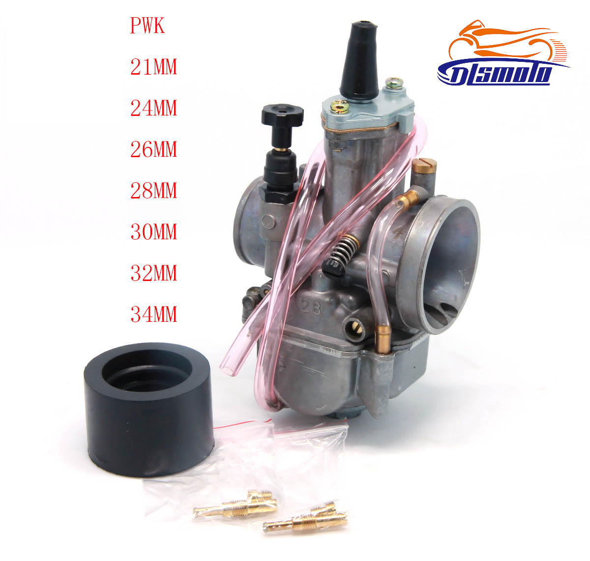 <font><b>PWK</b></font> 21 24 26 28 30 32 34 24MM 26MM 28MM 30MM 32MM <font><b>34MM</b></font> Racing Carburetor Koso OKO Keihin With Power Jet image