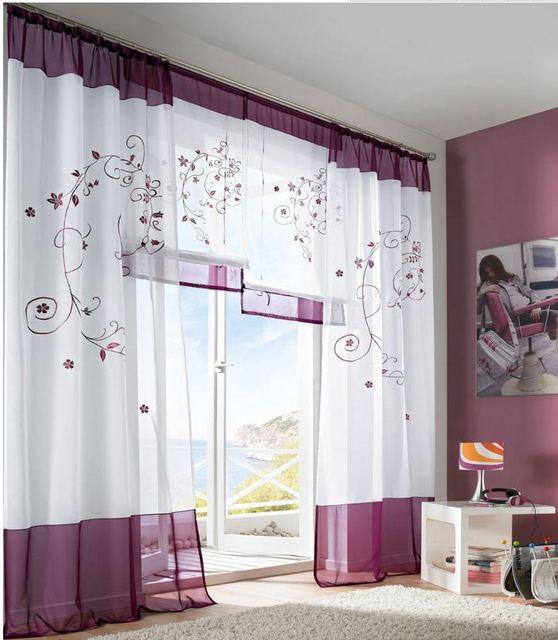 Roman Shade Kids Cortina Rustic Curtain Window Screening Home Decoration Decor Beautiful Curtains For Living Room