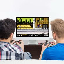 Retro Mini TV Game Console Classic 8 Bit Built-in 620 Games 2 Controller Family Entertainment Time Party Gift