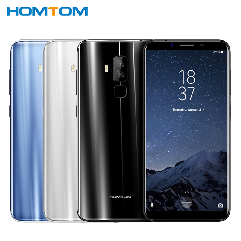 Original HOMTOM S8 Cell Phone 5 7 inch HD Screen 4GB RAM 64GB ROM MTK6750T Octa