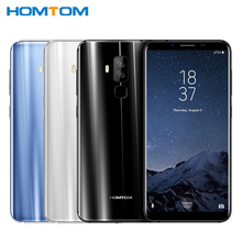 Original HOMTOM S8 Cell Phone 5.7 inch HD Screen 4GB RAM 64GB ROM MTK6750T Octa Core Android 7.0 Dual Cameras 3400mAh Smartphone