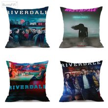 Riverdale Original TV Series Show Decorative Linen Cushion Cover For Sofa Chair 45x45cm Throw Pillow Case Home Decor Almofada(China)