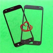 10 teile/los Ersatz LCD Vordere Touchscreen Glas Äußere Linse Für Samsung ATIV S i8750