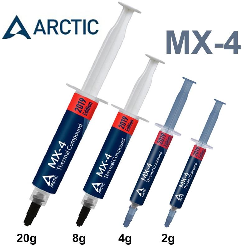 Ártico MX-4 2g 4g 8g 20g de AMD Intel procesador CPU refrigerador ventilador de refrigeración grasa térmica VGA pasta de yeso disipador de calor compuesto