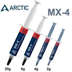 القطب الشمالي MX-4 2g 4g 8g 20g AMD معالج داخلي وحدة المعالجة المركزية مسند تبريد للاب توب مدمج به مكبر صوت مروحة شحم حراري VGA مجمع غرفة تبريد الجص لصق