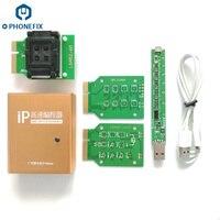 Caixa ip do fonefix v2 v3 nand programador com placa de ativação da bateria e eeprom ic nand flash ler escrever ferramenta para iphone ipad