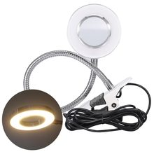 cc0dddceb42 Pro USB LED Desk Tattoo Lamp Eyebrow Lip Manicure Nail Art Eyelash Extension  Shadowless Warm Light Salon Makeup Table Lamp+Clip