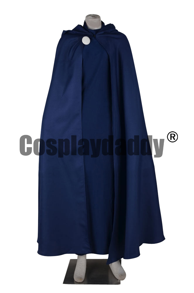 Teen Titans Rachel Roth Raven Original Clothes Cosplay Costume F006 mars pattern warhound titans full set f006