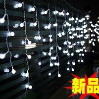 Produtos chineses ano novo estilo pequena luz noite decoração da lâmpada do jardim lâmpada varanda decoração 4 metros cereja levou seqüência de