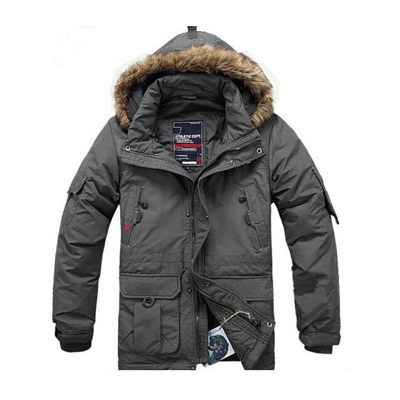 BRAND Winter Jacket for Men Down Parka Plus Size 5XL Warm