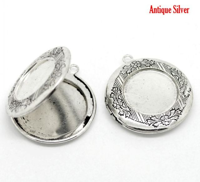Doreenbeads 10pcs antique silver picturephoto locket frame pendants doreenbeads 10pcs antique silver picturephoto locket frame pendants 36x32mmfit 24mm aloadofball Gallery
