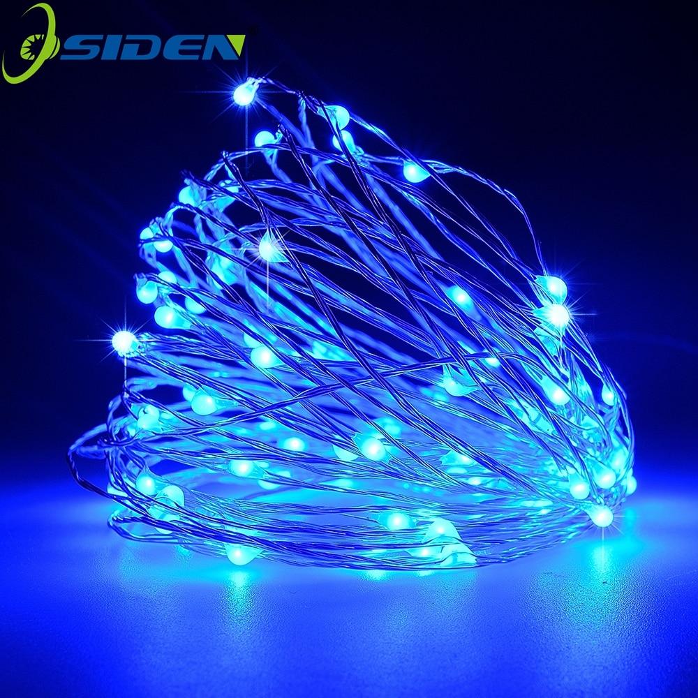 garland string usb usb 16.4 32.8ft Sârmă de cupru sârmă de - Iluminat exterior - Fotografie 4