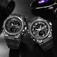 2019 Sports Men Watch Top Brand Luxury Digital LED Military Quartz Watch Men Waterproof S Shock Silicone Clock relogio masculino