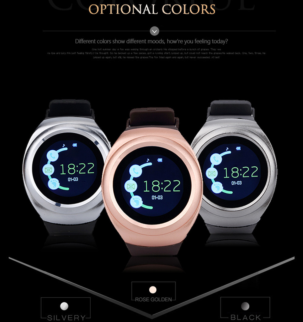 2017 New Sport Full Screen V16 Smart Watch S600 For Android Match Smartphone Support TF SIM