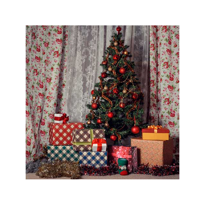 8x8ft free shipping Christmas backdrops Customized computer Printed vinyl photography background  for photo studio st-307 free shipping 8 12ft vinyl photography background studio computer digital photography backdrops clocks background m 1290