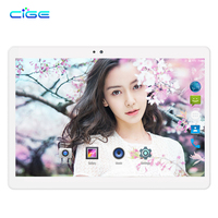CIGE 2018 New 10.1 inch Tablet PC Android 7.0 Octa Core 4GB RAM 64GB ROM 1920*1200 IPS Kids Gift Phone Tablets 10 10.1 WiF