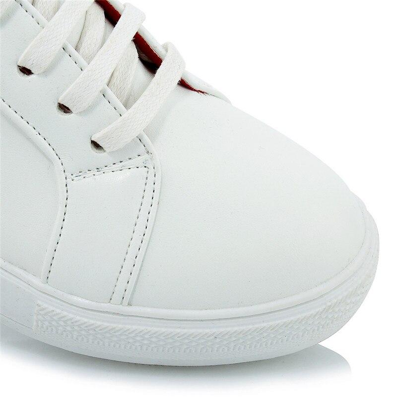 Cru Chaussures Oxford Karinluna Semelle blanc Taille De Casual Caoutchouc Lacent Confortable En Plat Grande Femme vert rouge Noir 44 Femmes 30 SfS7wXqxE